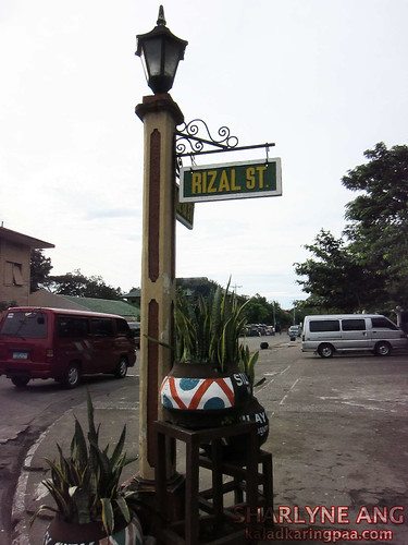 Rizal Street in Silay