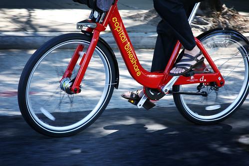 Capital Bikeshare (By: DC DOT)