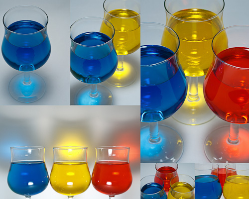 Water & Glass Series
