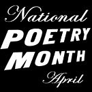 Poetry Month is in April!