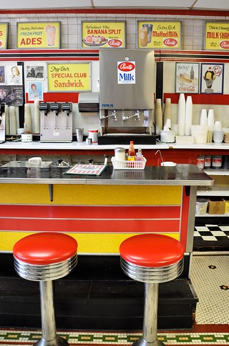 Counter Elliston Place Soda Shop Nashville TN