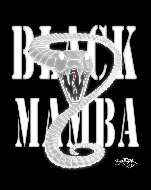 black mamba white snake version