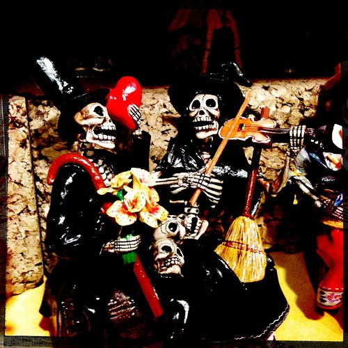 Mariachi band of the dead