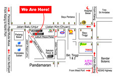 Pedypak Warehouse Sales 23 Jun - 3 Jul 2011 map