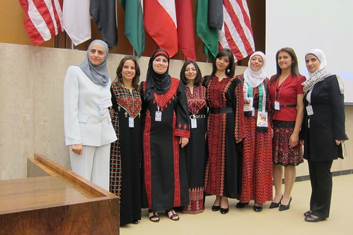 TechWomen from Palestine at US State Department