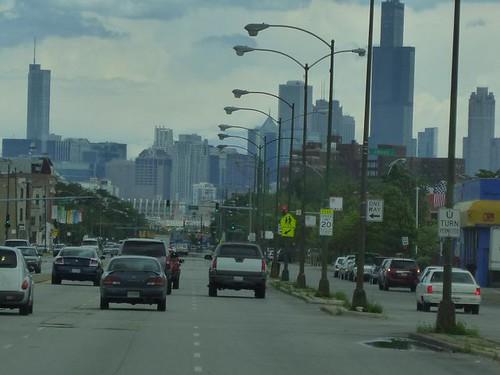 IL - Route 66 final leg 047 - Chicago Skyline