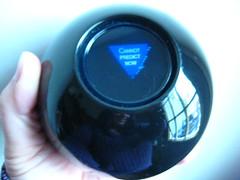 67 of 365+1 Part Three- Dusty Magic 8 Ball, wi...
