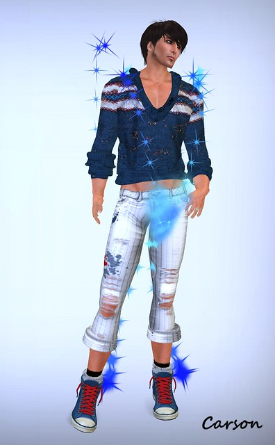 subVersion - Driftwood Beach Outfit...   Animations Rising - Stellar Particle Clothes