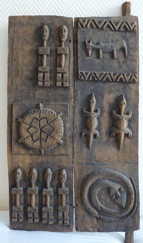 My dogon granary door