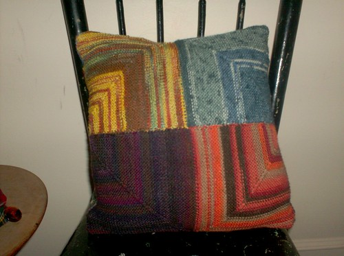 Patchwork Cushion - Back