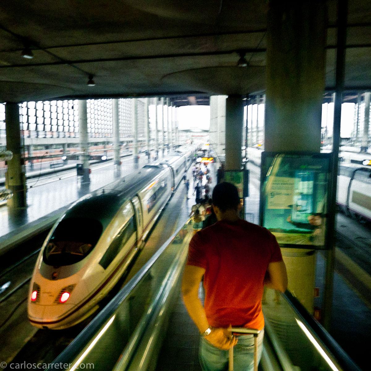 Hacia el tren