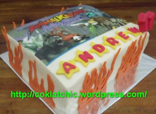 Animal Kaiser cake ANDREW Jual Kue Ulang Tahun
