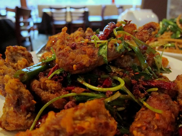 peter chang's - deep fried sichuan salty duck big zoom