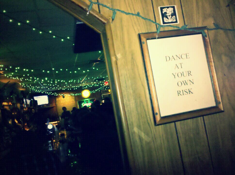 Dance at your own risk.