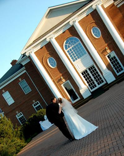 Wedding Ceremony at Rose Hill Manor Leesburg VA