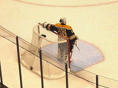 Tim Thomas take a breather