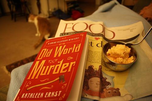 Old World Murder, Food section, Pumpkin ice cream