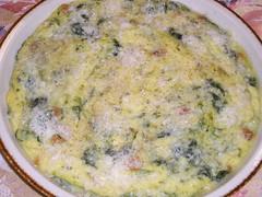 polenta with rapini