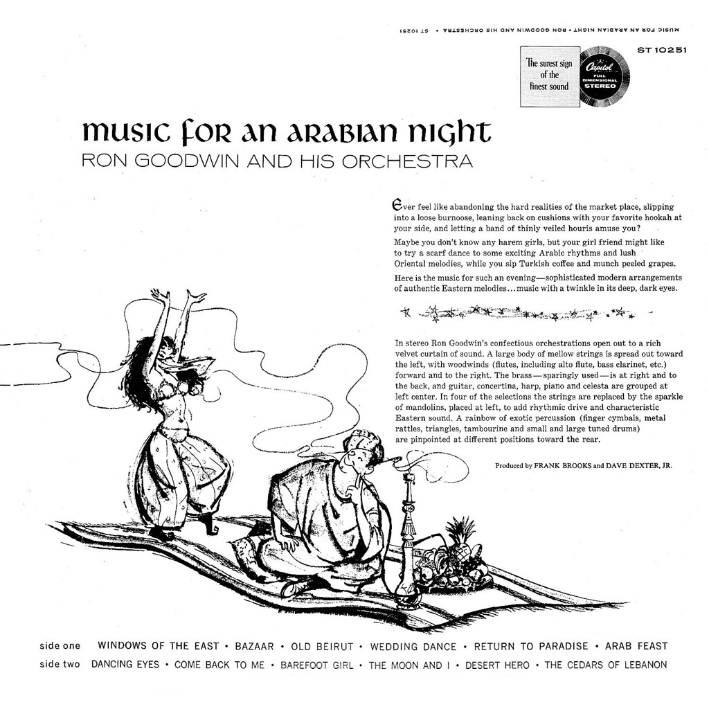 Ron Goodwin - Music for an Arabian Night b