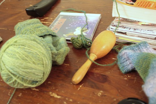 darning socks