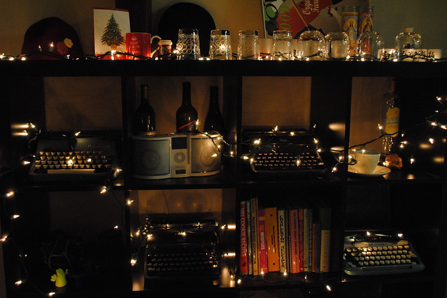 Shelf w/ Lights