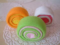 felt cake roll
