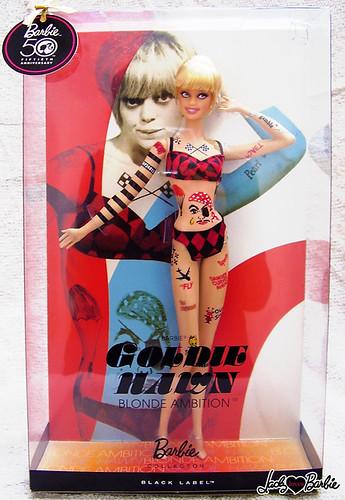 Barbie doll as Goldie Hawn