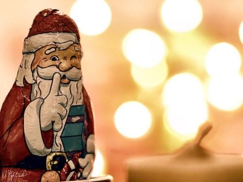 zwinkernder Nikolaus
