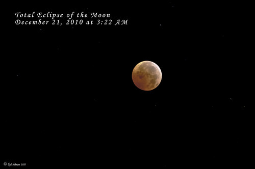The Total Eclipse of the Moon