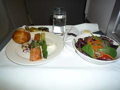 BA Club World Smoked Salmon Appetizer