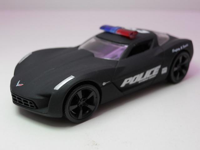 Jada Toys HEAT Police 09 Corvette stingray concept (2)
