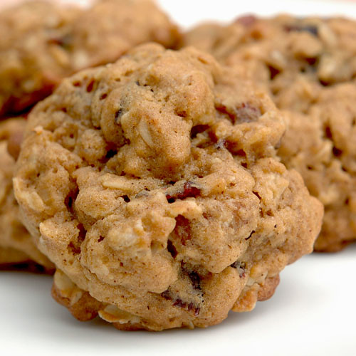 Oatmeal, Cranberry and Pecan Spice Cookies