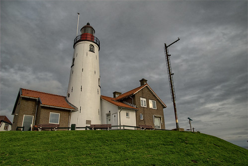 Urks' Lighthouse (sea side)