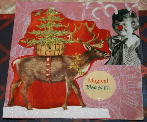 """Magical Moments 4"""" x 4"""" Collage Card"""