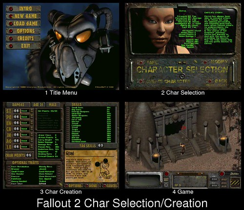 Character Creation in Fallout 2