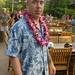 dan at the luau