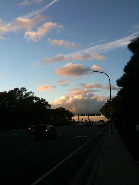 Going homeward