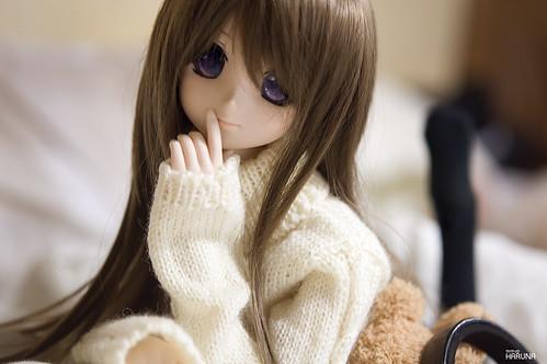 Haruna in Sweater