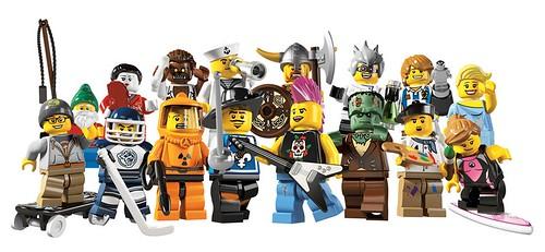 8804 Minifigures Series 4