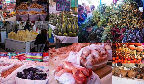 Arequipa market scenes
