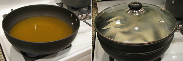 Boiling Broth/Steaming Wontons