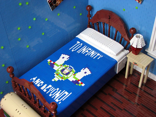 Bed from above