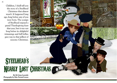 The Primgraph: Issue 14 - Steelhead's Nearly Lost Christmas