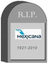 Mexicana Tombstone