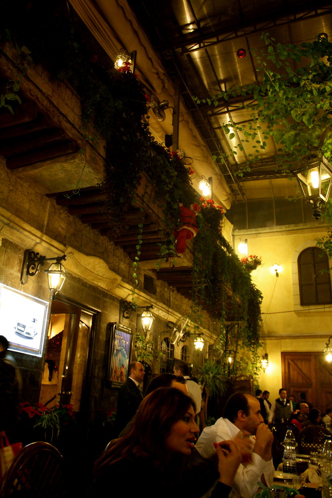 Haretna - a mid-priced dining option in old Damascus