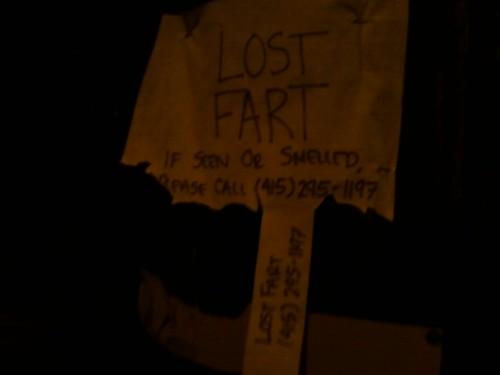 Lost fart