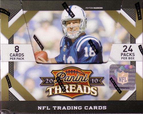 2010 Panini Threads box