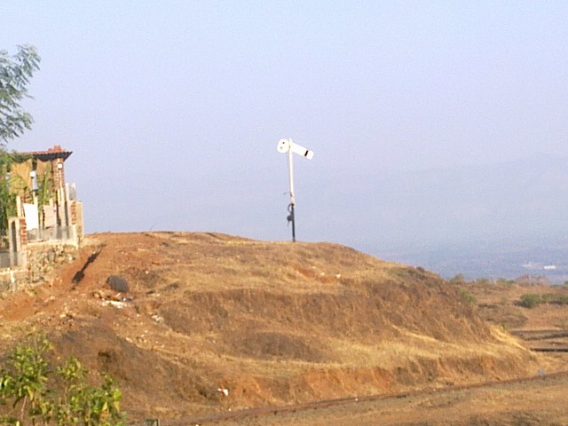Old Style Railway Signal on the way to Matheran-Neral