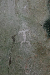 Pictograph of Headless Human Figure
