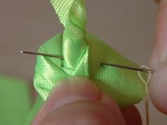 how to make ribbon roses-12